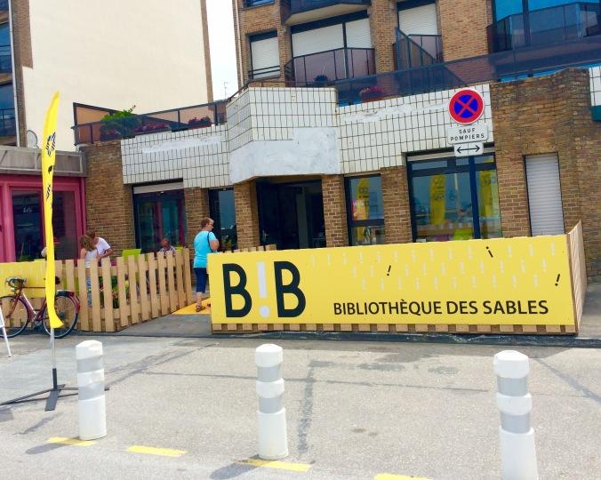 La bibliothèque des Sables Dunkerque